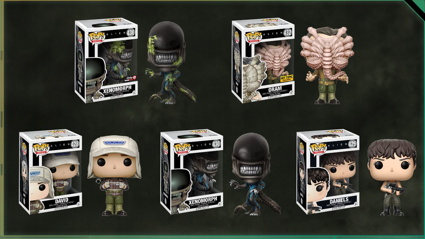 First Look At Alien Covenant Funko Pop And Neca Toys