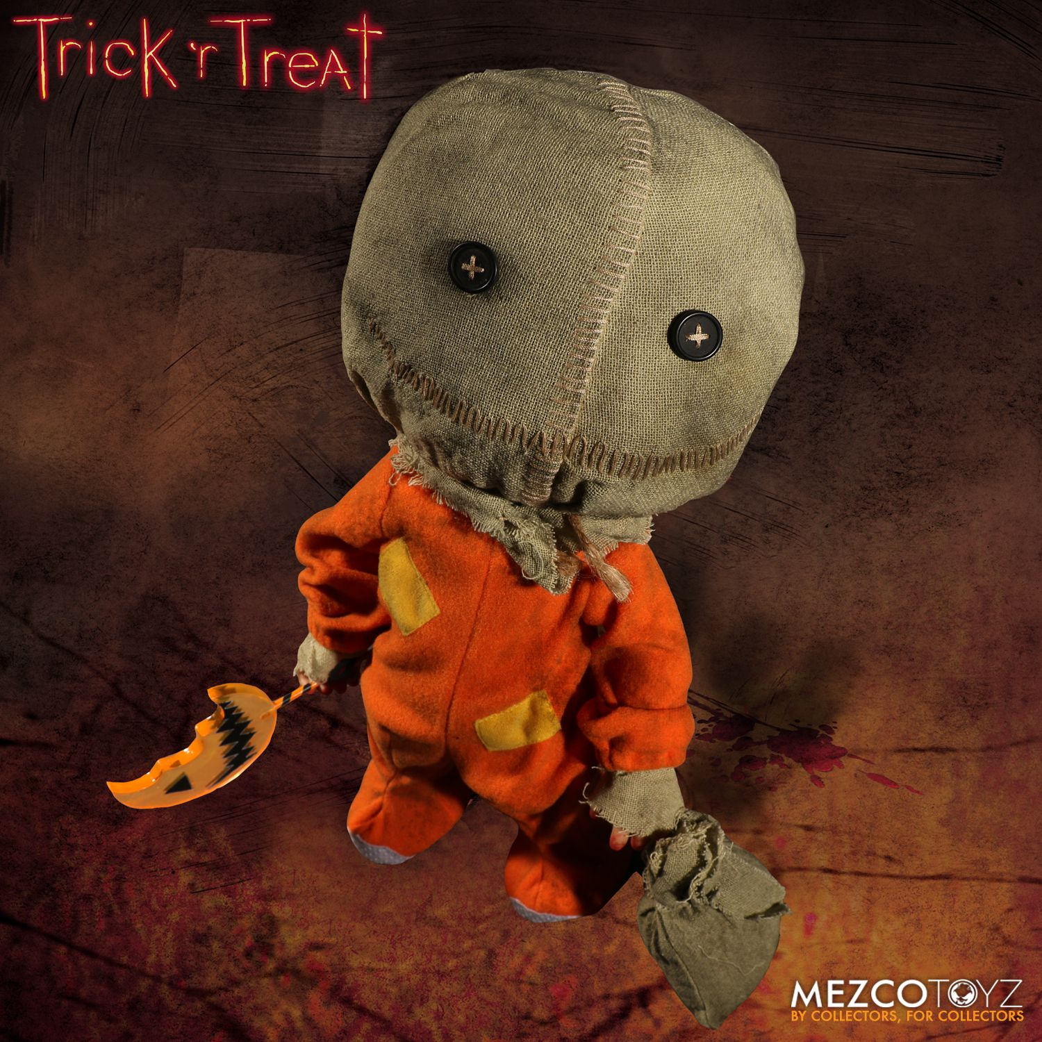 "Bring Sam Home With Mezco's New 15"" 'Trick 'r Treat' Doll ..."