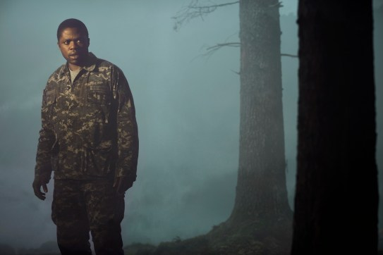 Okezie Morro stars as Bryan Hunt a military man with amnesia who is haunted by the emptiness of not having an identity in Spike TV's THE MIST, based on a story by Stephen King, which premieres on Thursday, June 22 at 10 PM, ET/PT.