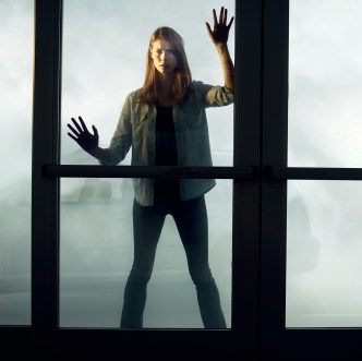Alyssa Sutherland stars as Eve Copeland, a mother desperate to protect her daughter, in Spike TV's THE MIST, based on a story by Stephen King. THE MIST premieres on Spike starting Thursday, June 22 at 10 PM, ET/PT.