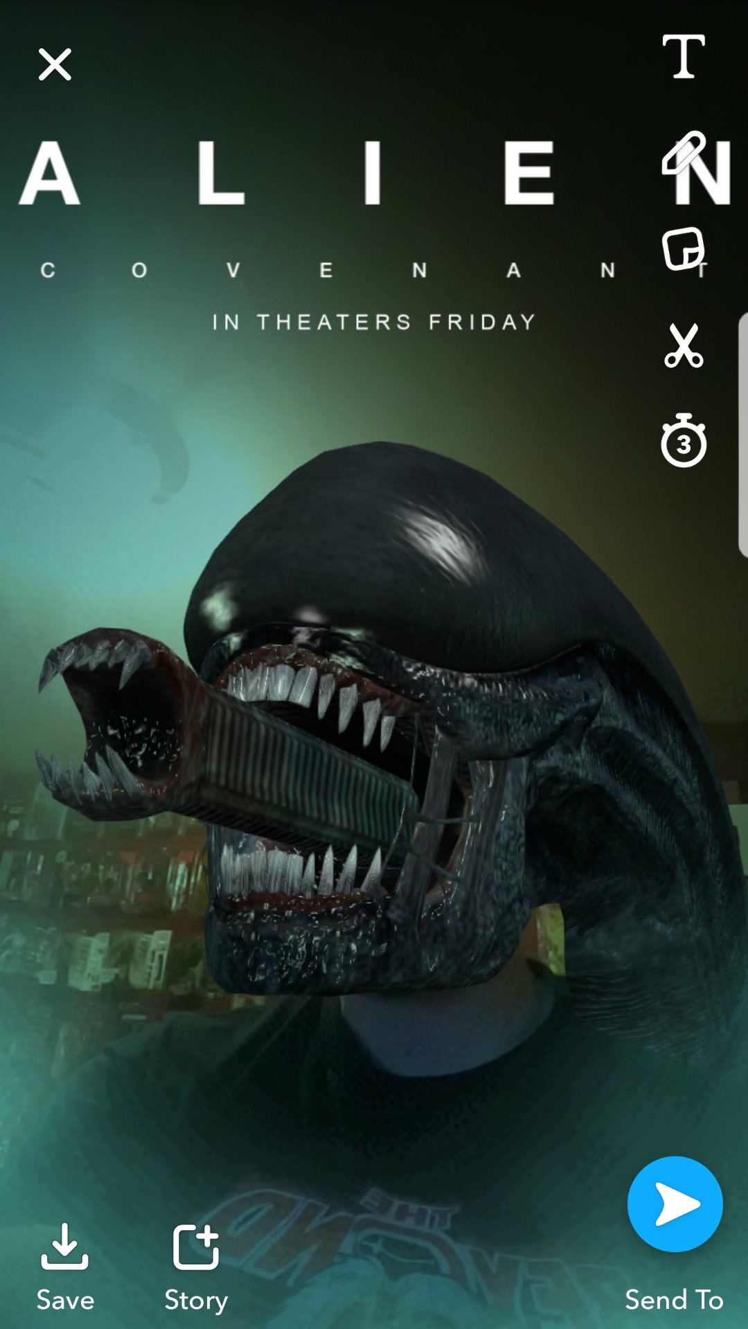 Become a Xenomorph Wit...