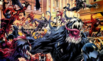 Venom and Carnage via Marvel Comics