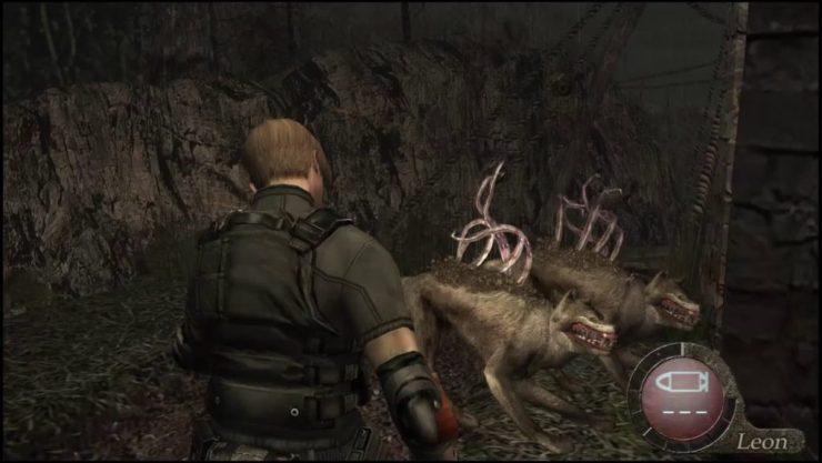 Resident Evil 4 Tentacle Dog