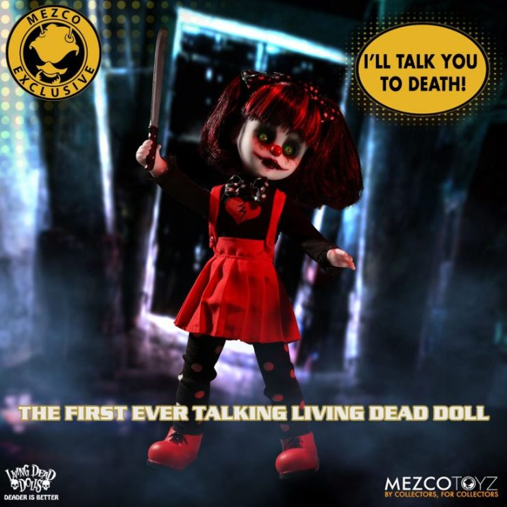Living Dead Dolls Friday The 13th Jason Voorhees Doll: Trailer Teases First Ever Talking 'Living Dead Doll
