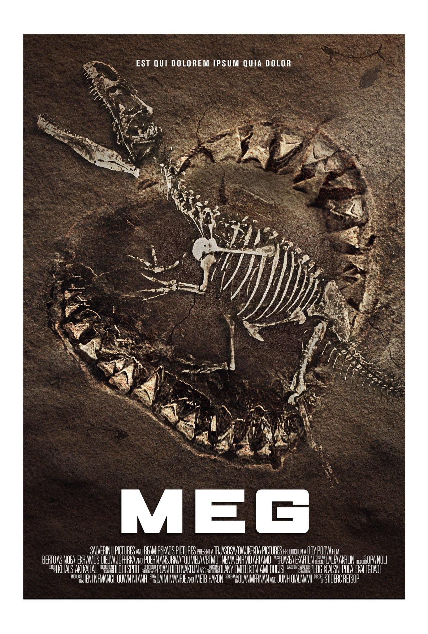 Resultado de imagem para The Meg 2018 posters