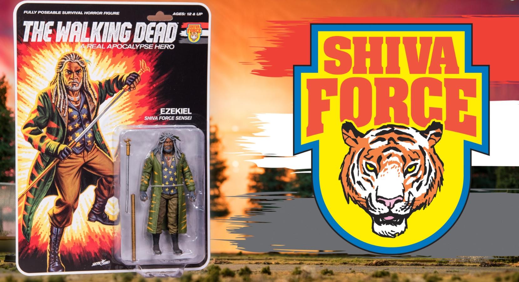 Shiva Force THE WALKING DEAD A Real Apocalypse Hero RICK Commander GI JOE Style