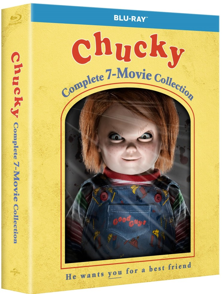 Cover Art and Details for 'Chucky: Complete 7-Movie Collection ...