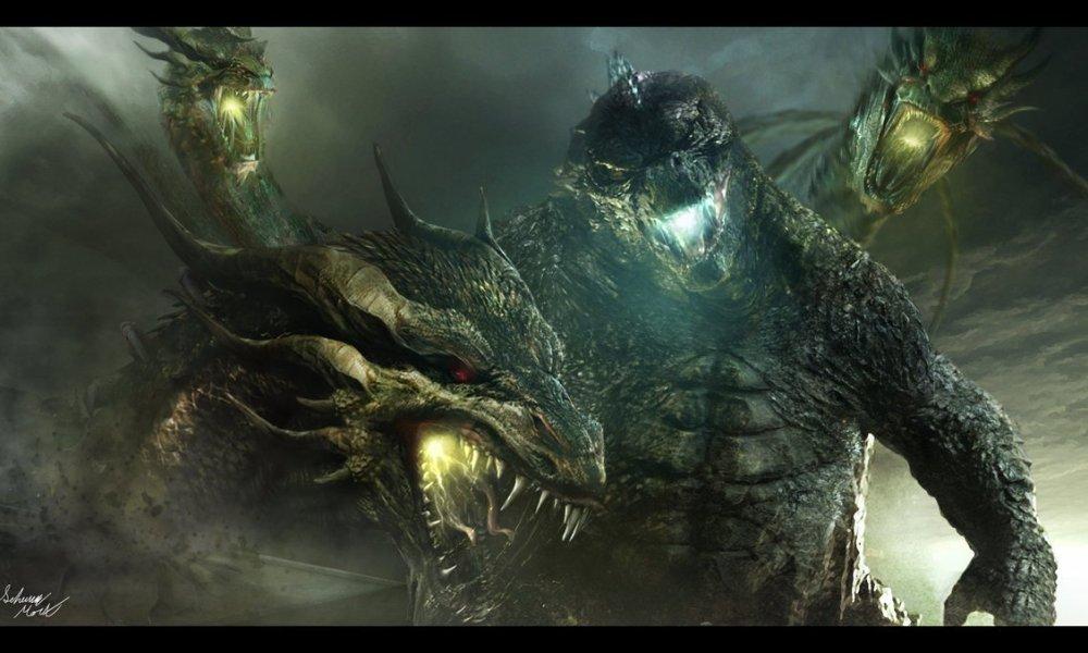 new monsterverse video teases king ghidorahs arrival