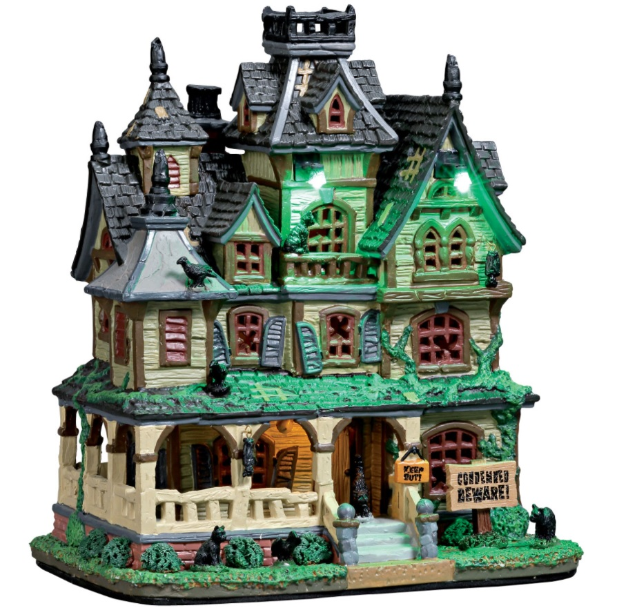 """Halloween House Decorations: Check Out The Halloween 2017 """"Spooky Town"""" Collection"""