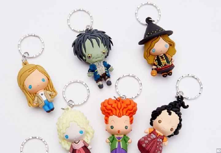 Hocus Pocus Figural Keychains Coming This Halloween
