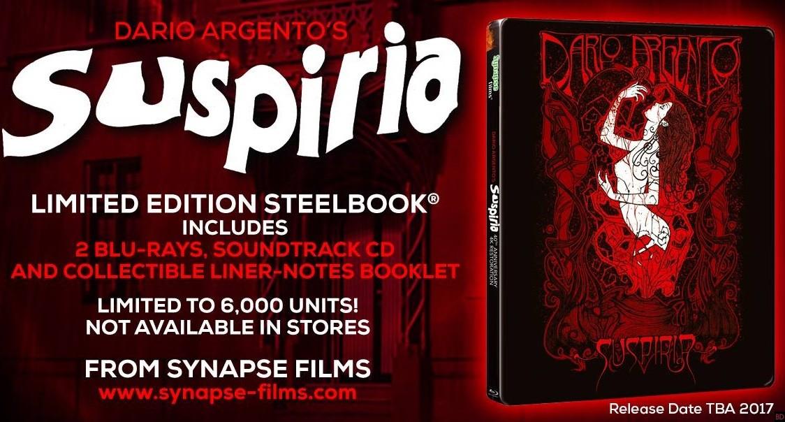 synapse u0026 39 s  u0026 39 suspiria u0026 39  4k remaster blu-ray now available for pre-order