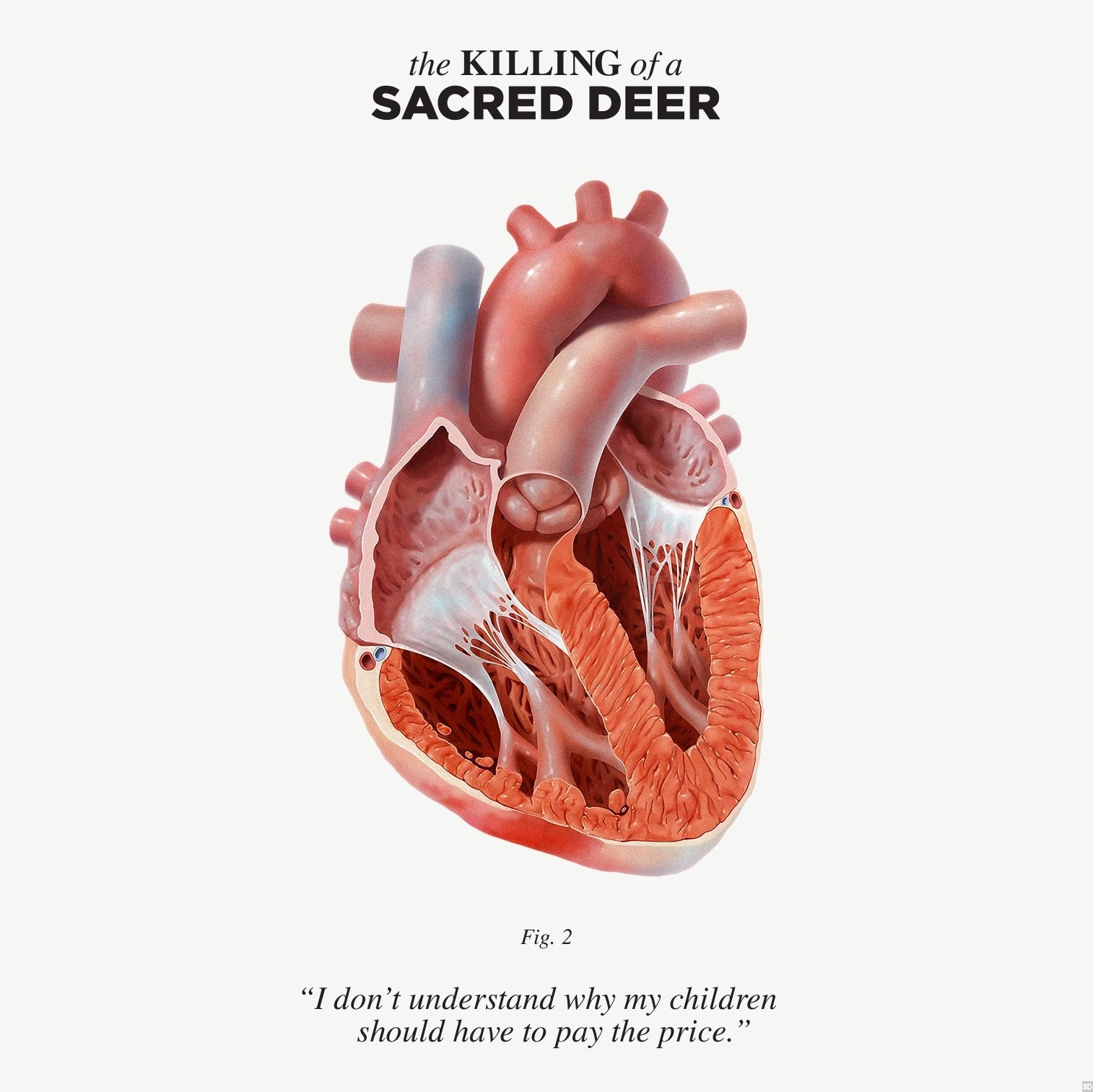The Killing Of A Sacred Deer Poster Exposes Its Heart
