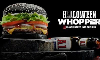 Burger King - Black Halloween Burger