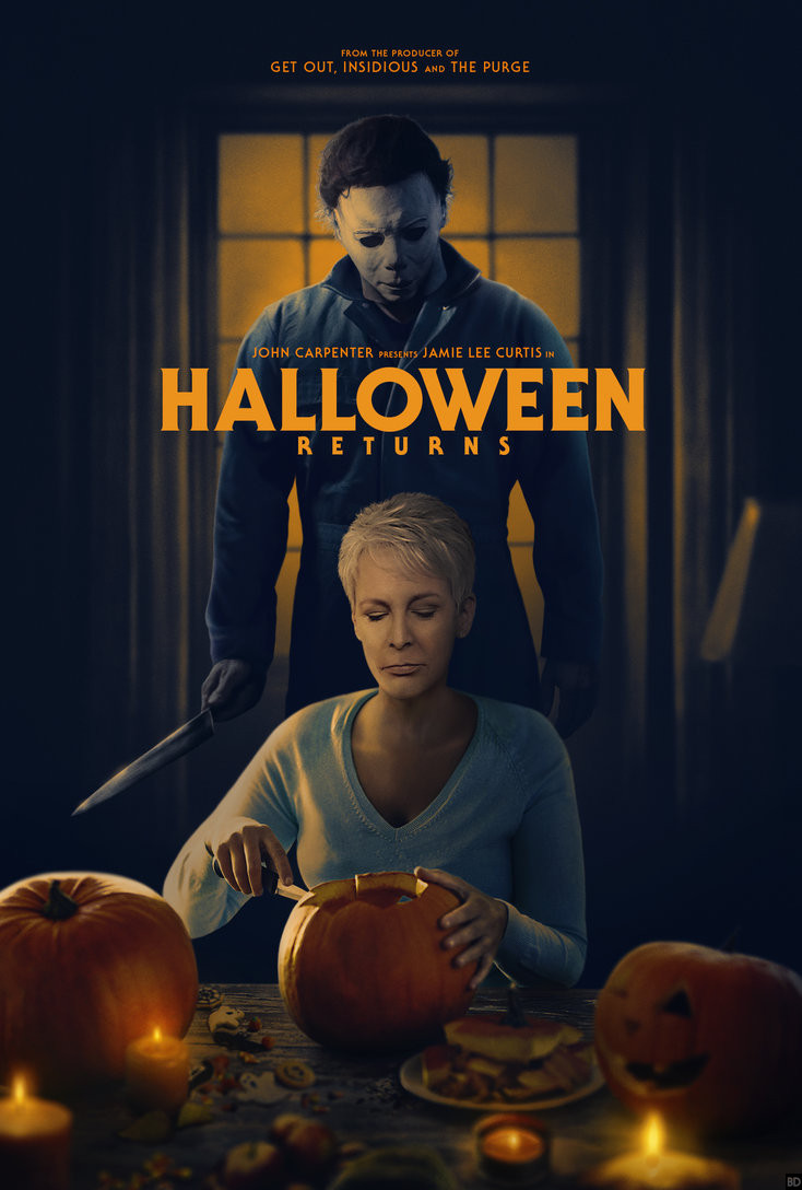 Awesome \u0027Halloween\u0027 Fan Poster Reunites Laurie and Michael
