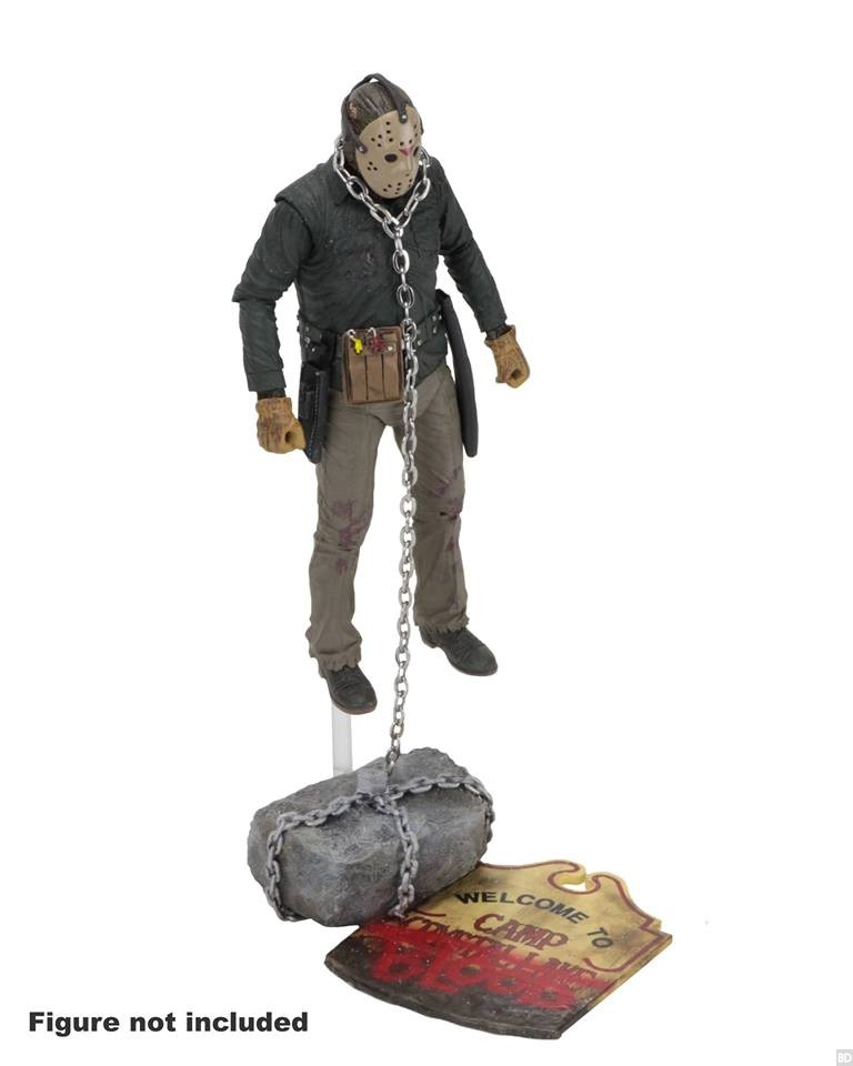 Toys For 13 : Neca s camp crystal lake accesory pack is the coolest way