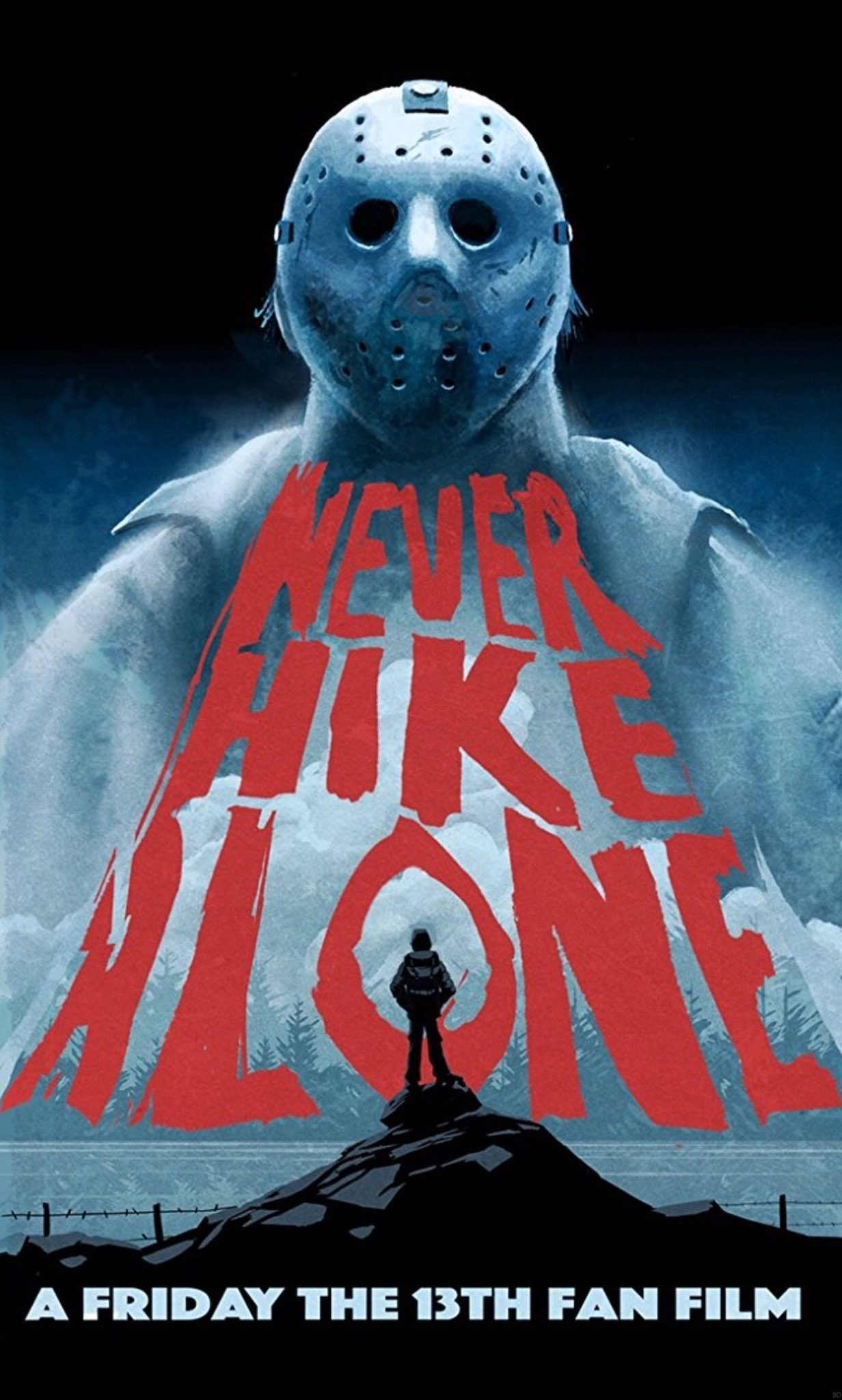 Image result for never hike alone