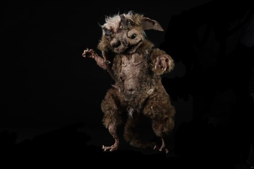 Puppets by Wimbledon College of Arts: Lydia Smith, Anna Henderson, Sasha Fusini and Annie Pugh