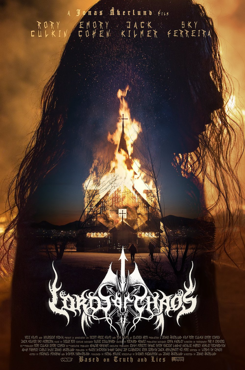 'Lords of Chaos' Poster Looks Like a Black Metal Album ...