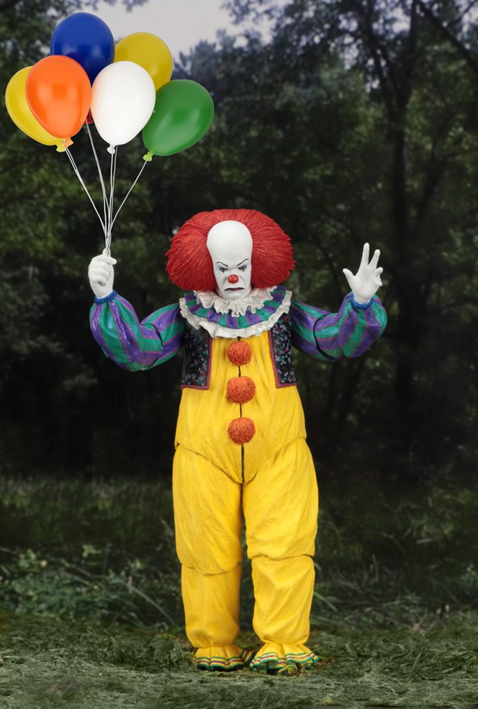 Tim Curry's Pennywise Gets His Own Action Figure! [Toy