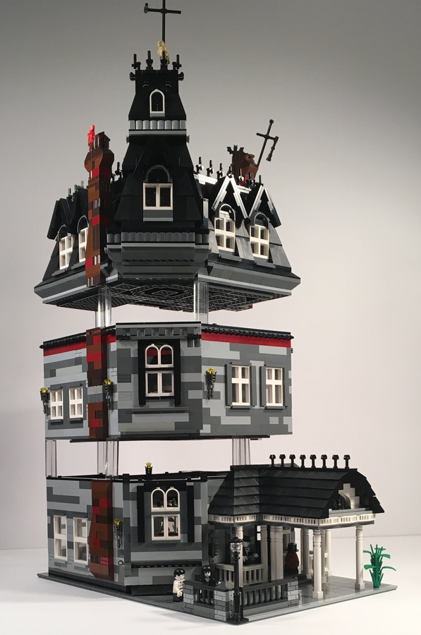 You Could Help Make This Lego Quot Addams Family Quot Mansion A