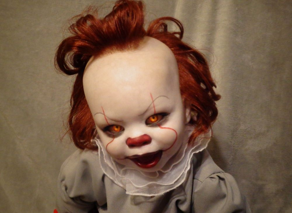 This Quot Baby Pennywise Quot Doll Will Probably Ensure You Never