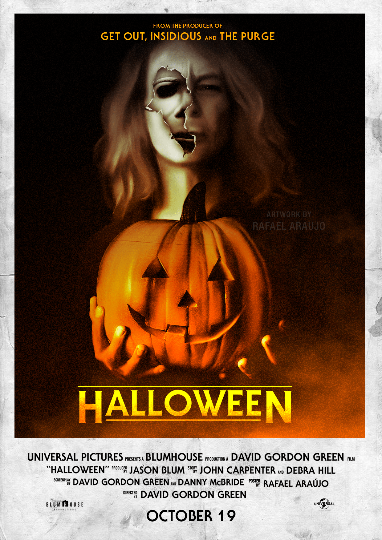 Halloween 2018 Fan Poster.We Re Loving These Fan Made Posters For This Year S