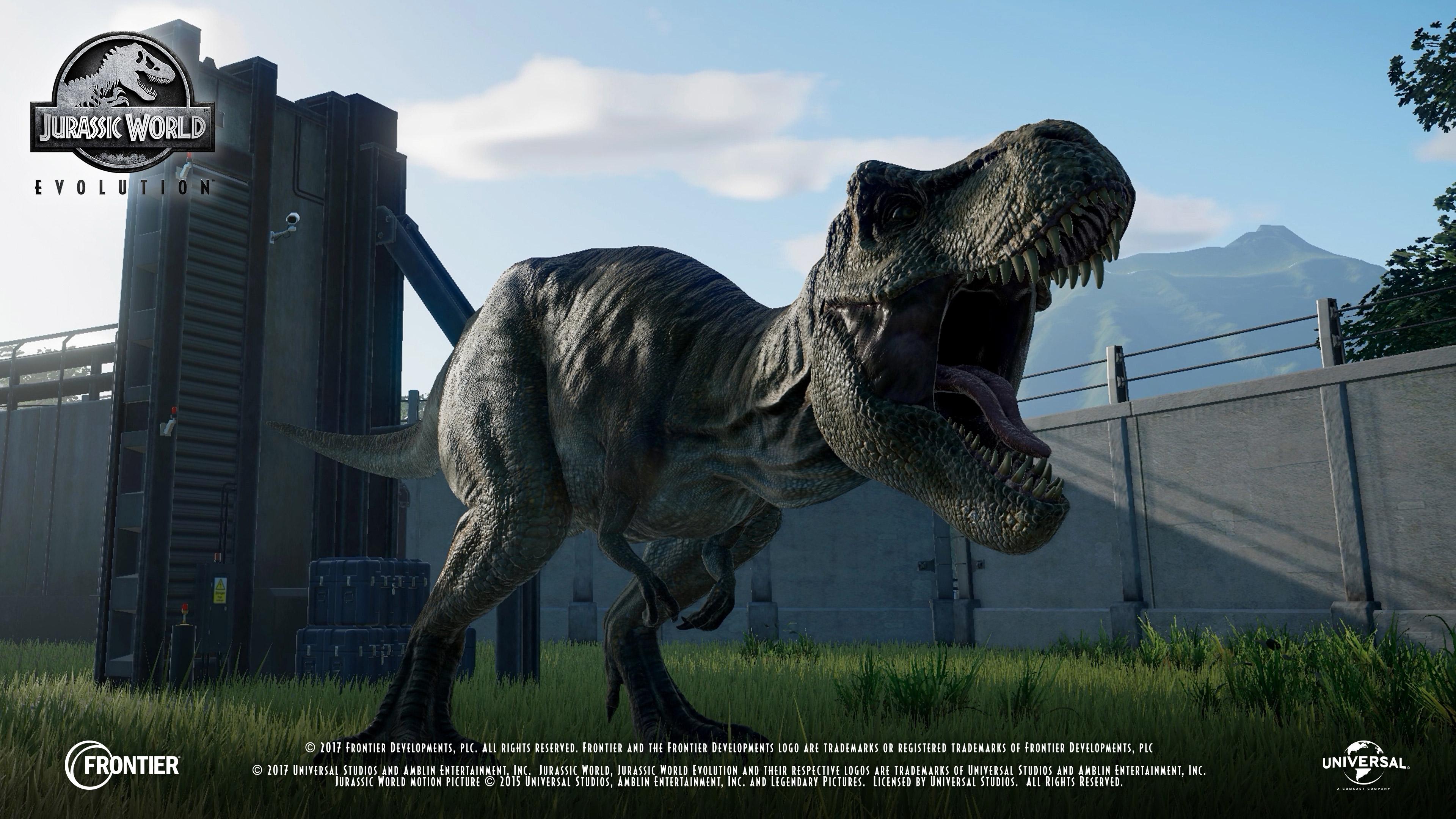 Theme Park Simulation Game Jurassic World Evolution Gets