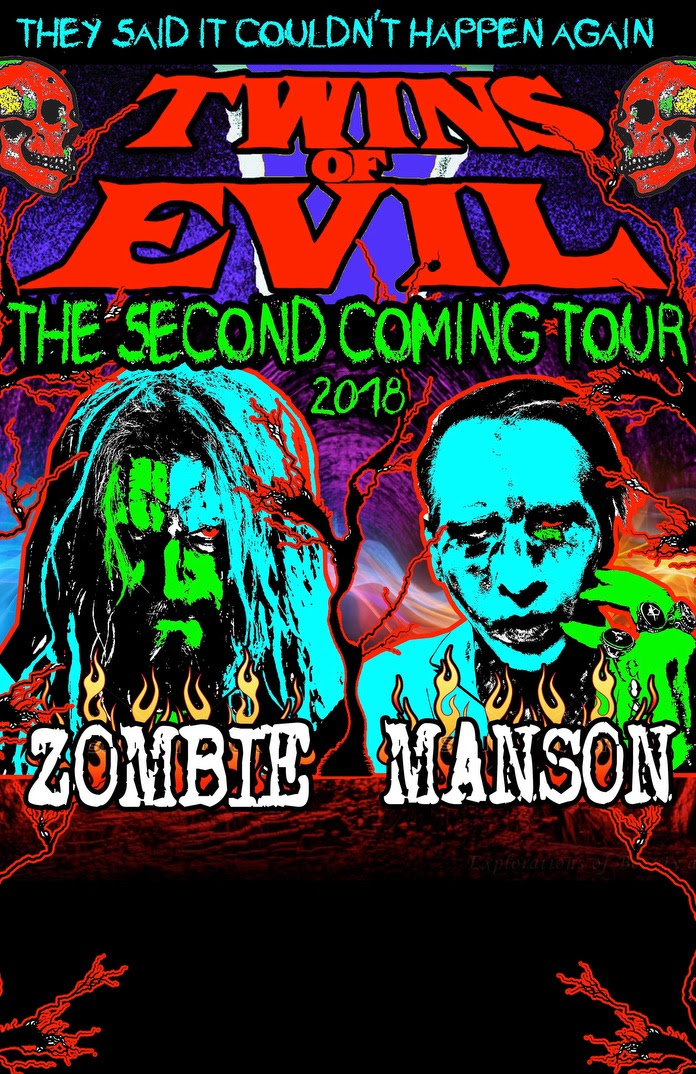 Rob Zombie And Marilyn Manson Release Official Cover Of