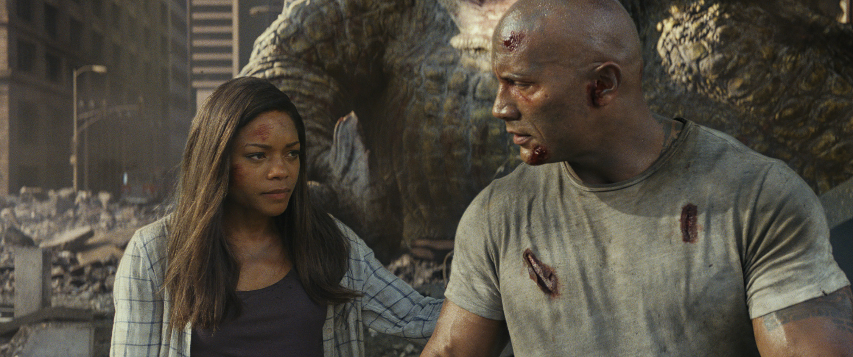 Effects-blending Still An Issue In 'Rampage' [Images] - Bloody