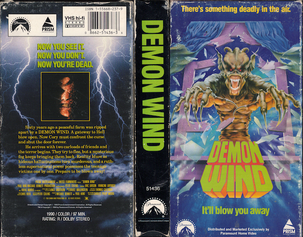 5 Horror Films with VHS Cover Art Way Cooler Than the Actual Movie