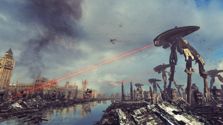 "NEW POST!  ""War of the Worlds"""