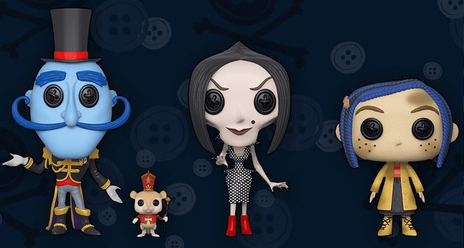 Spooky Animated Film Coraline Joins Funko S Pop Vinyl Collection With Six Different Toys Bloody Disgusting