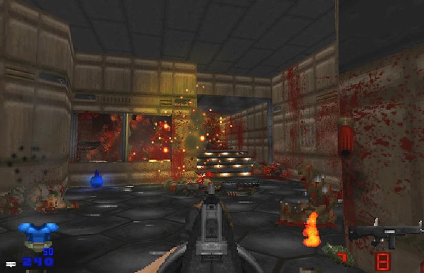 v21 of 'Brutal Doom' Mod Receives Release Candidate Update - Bloody