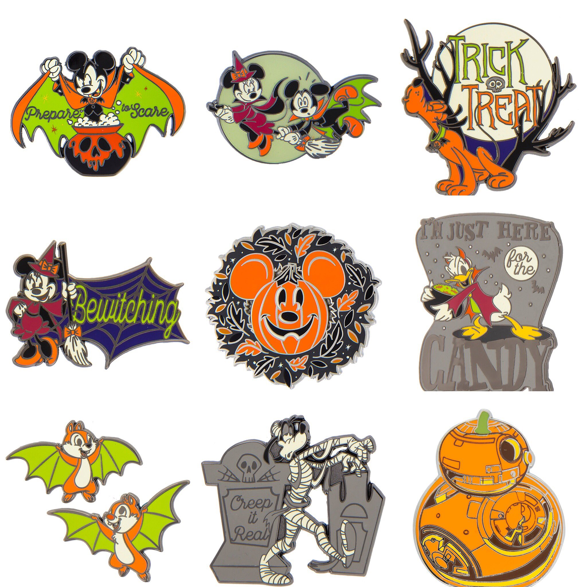 disney unveils the halloween 2018 novelty goodies you'll find at