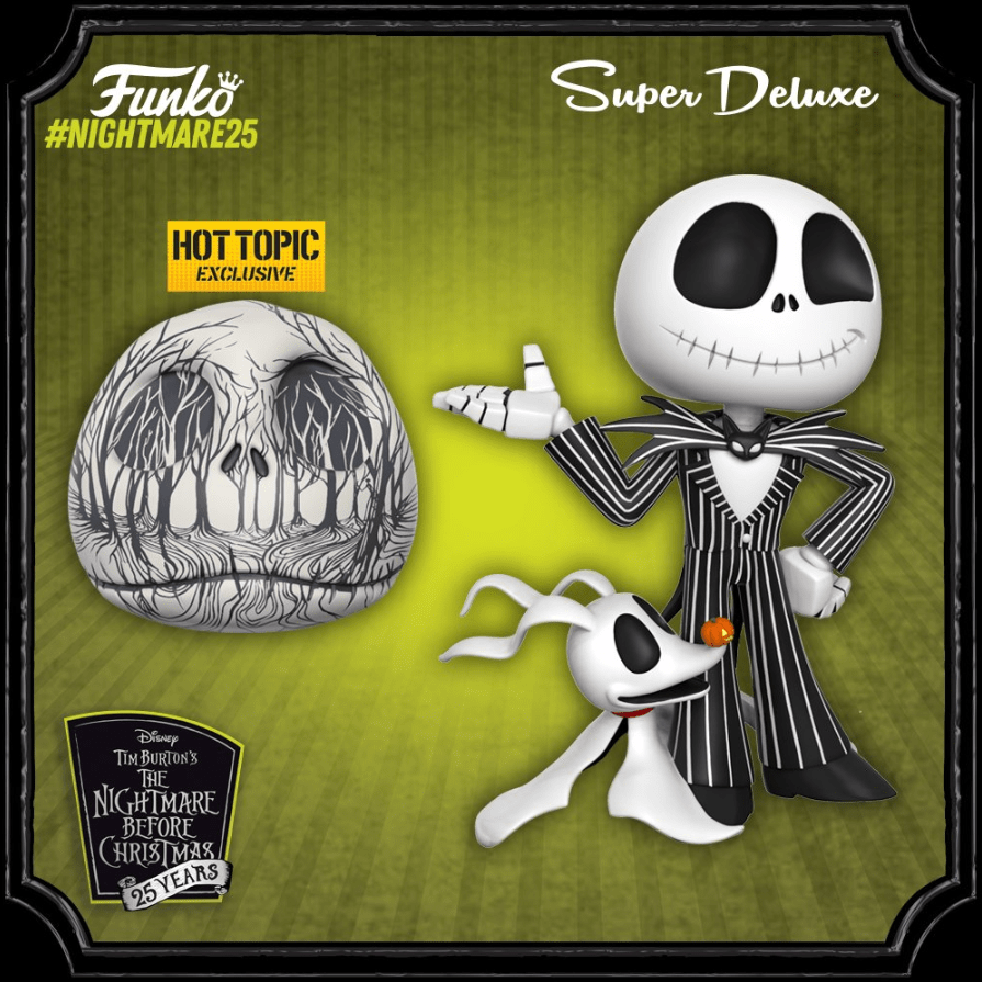 Images] Funko Previews Massive \'Nightmare Before Christmas\' 25th ...
