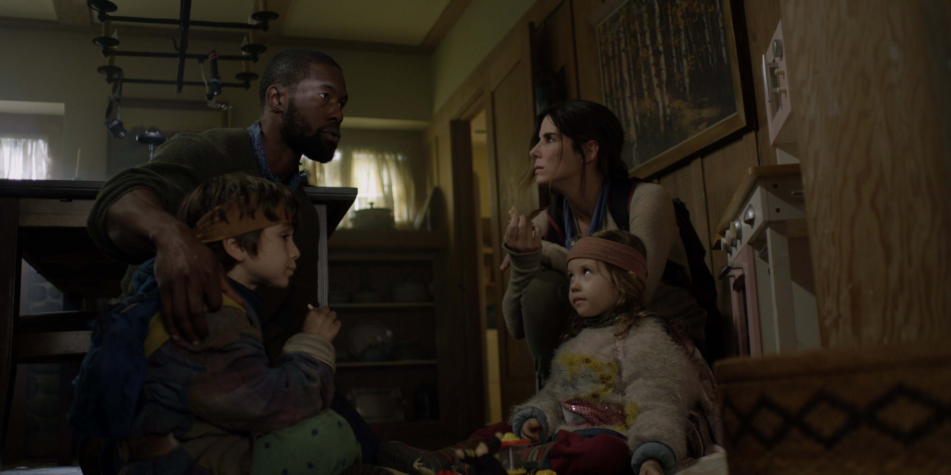 Bird Box Image Gallery Blindfolds The Cast Bloody Disgusting