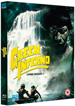 The Green Inferno - Cannibal Holocaust 2 3D Packshot Slipcase