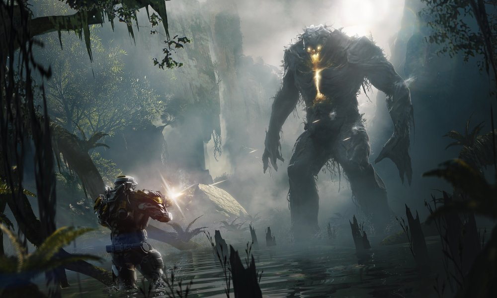 Review Anthem Is A Messy Mmo Shooter That S Still Satisfying To