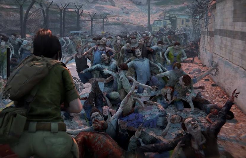 World War Z Game Wallpaper: 'World War Z' Game Lumbers To April 16th Release Date