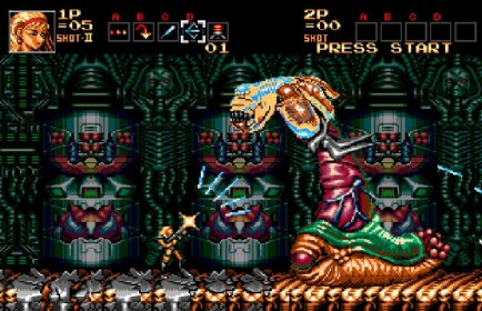 Image result for Contra: Hard Corps