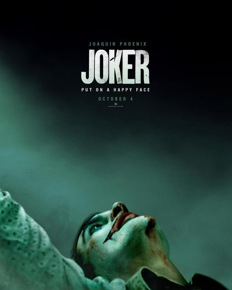u0026 39 joker u0026 39  poster puts on a happy face ahead of teaser