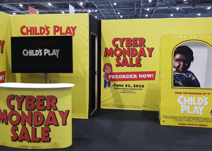 Movie Poster 2019: Chucky Finds Time To Play At #MCMComicCon London
