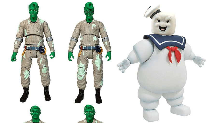 """Diamond Select Toys Bringing Unique """"Spectral"""" Action Figure Set of """"The Real Ghostbusters"""" to SDCC - Bloody Disgusting"""