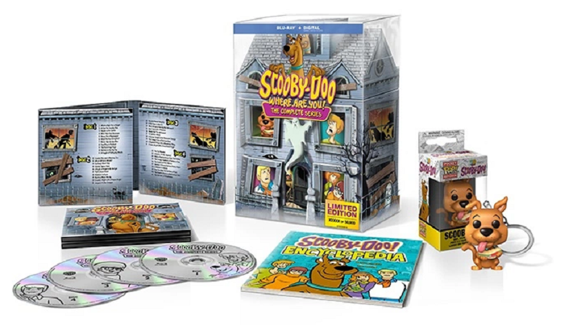 """""""Scooby-Doo, Where Are You!"""" Finally Coming to Blu-ray in 50th Anniversary Mystery Mansion Set! - Bloody Disgusting"""