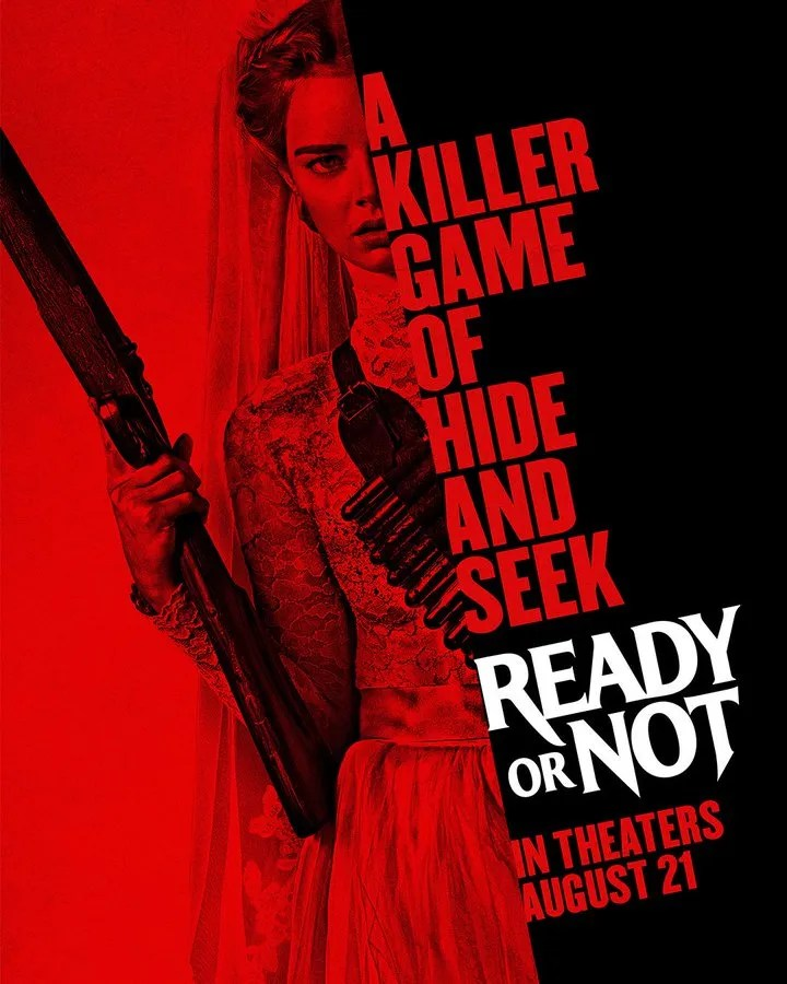 Image result for ready or not poster