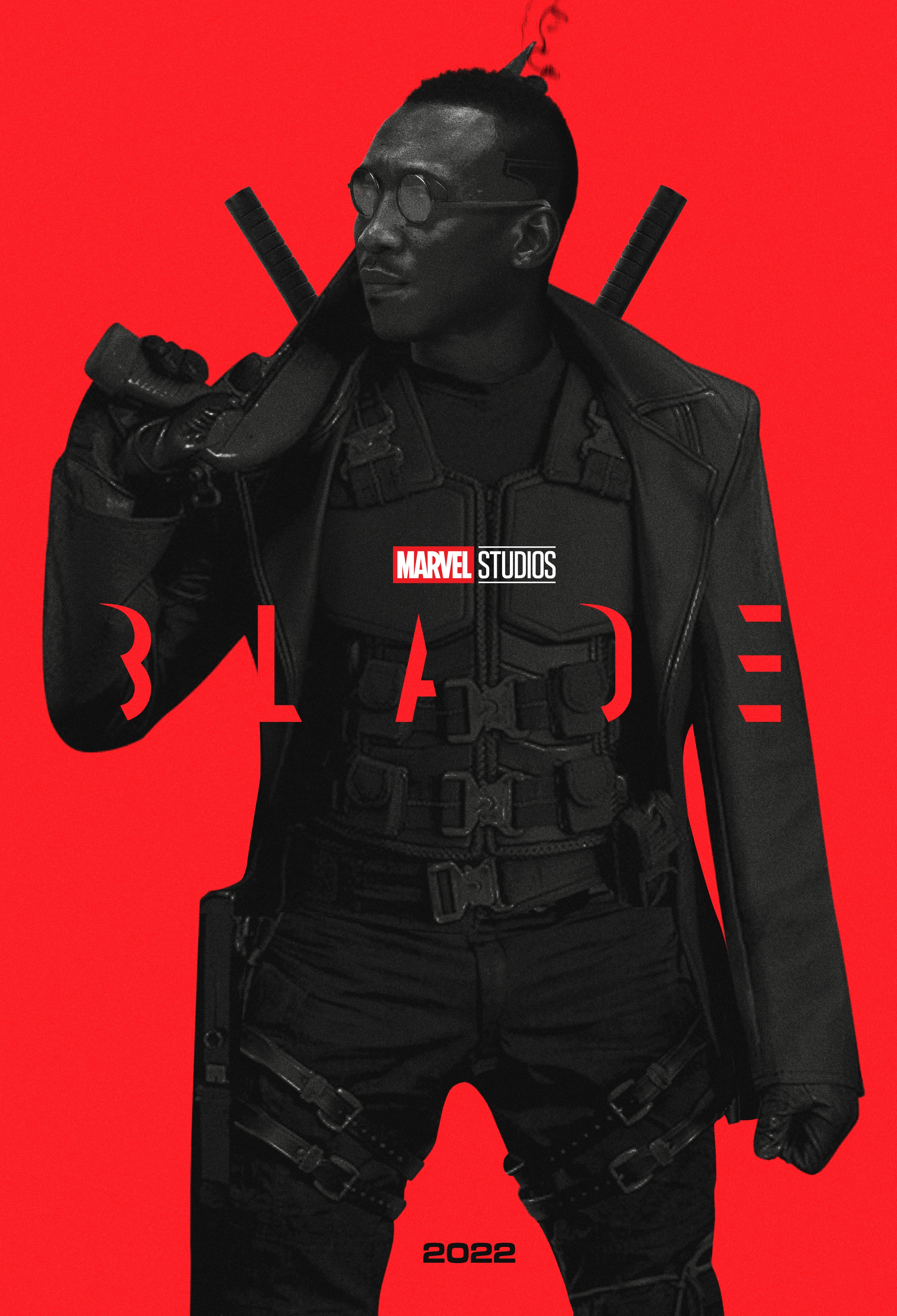 Here S A Pretty Cool Fan Poster For Marvel S Blade Reboot Starring Mahershala Ali Bloody Disgusting