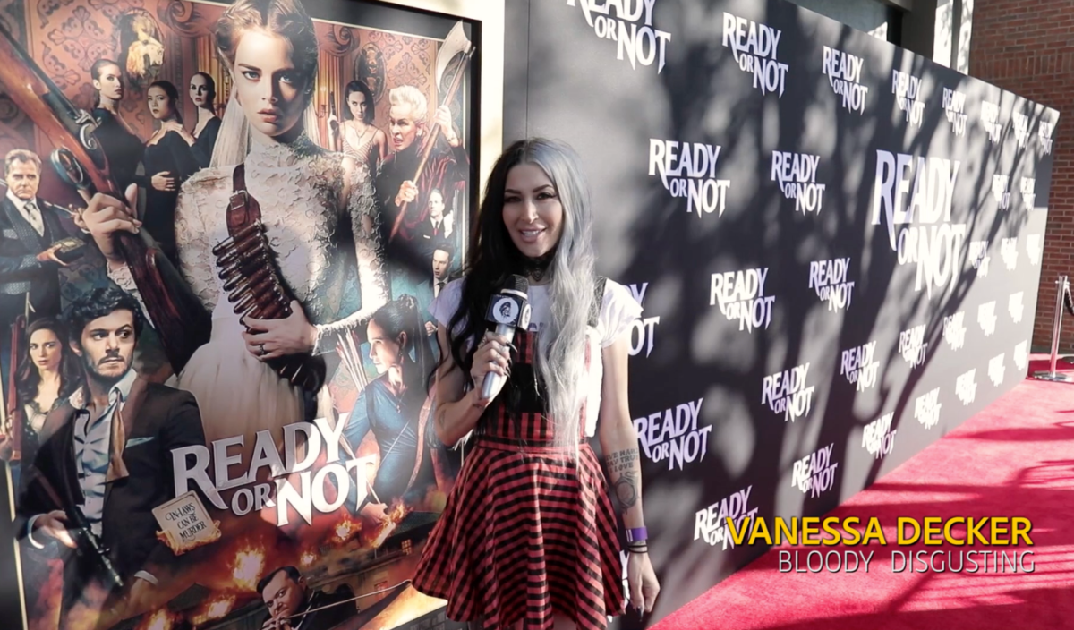 BD's Vanessa Decker Takes Us to the 'Ready or Not' Red Carpet Premiere in Hollywood! [Video] - Bloody Disgusting