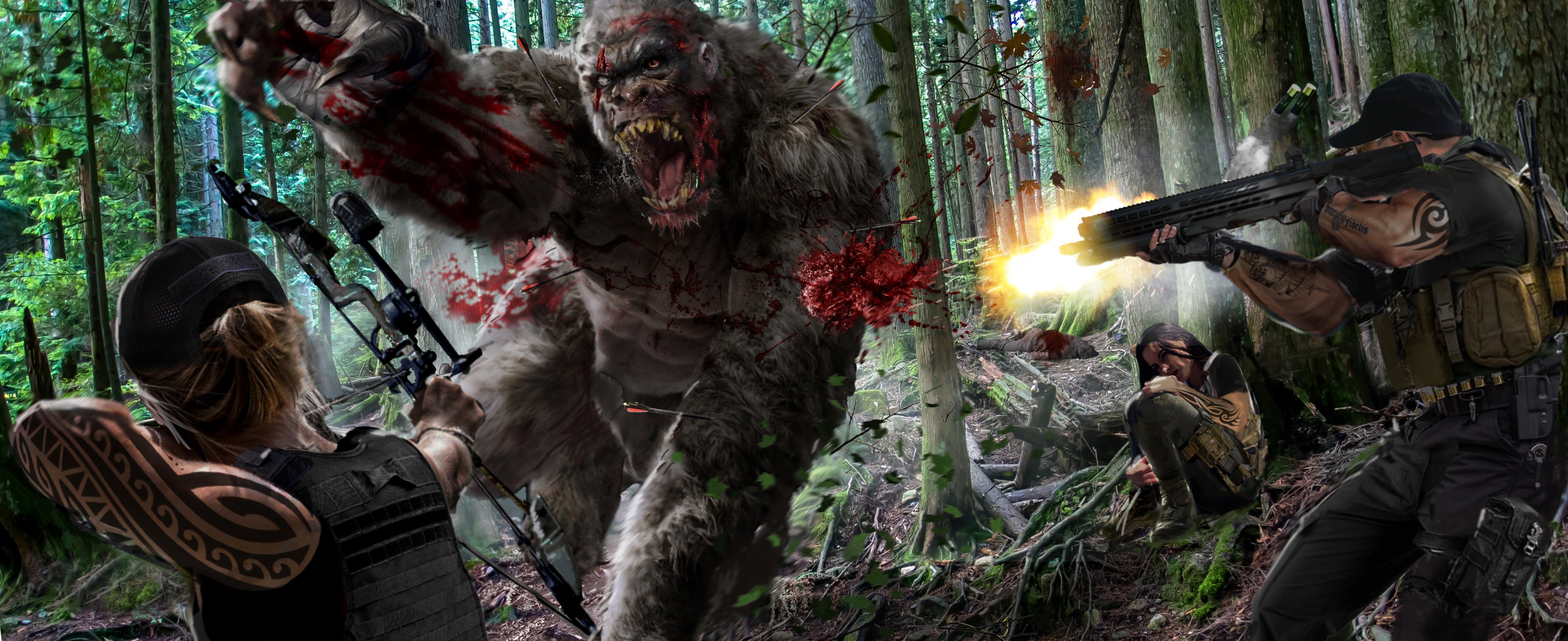 Latest Concept Art for Eric Red's 'No Man's Ridge' Teases a