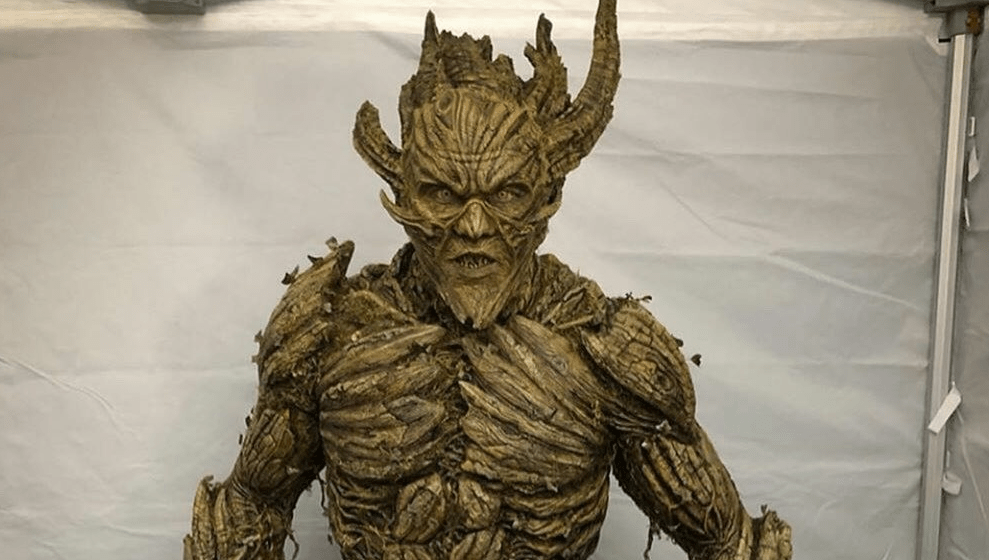 """Here's a Much Better Look at the Floronic Man Makeup from the """"Swamp Thing"""" Finale - Bloody Disgusting"""