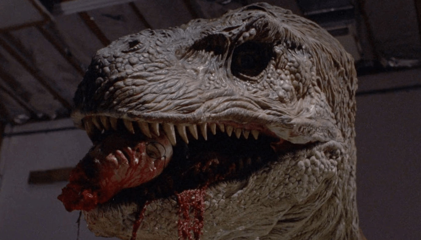 """Bloody Trailer for the Restored """"Gore Cut"""" of 'Tammy and the T-Rex' Previews Vinegar Syndrome's Blu-ray - Bloody Disgusting"""